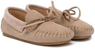 Pépé Lace-Up Boat Shoes
