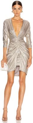 IRO City Dress in Gold | FWRD