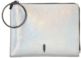 THACKER Gable Ring Travel Pouch (Opal) Clutch Handbags
