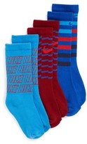 Nike Toddler Boy's 3-Pack Logo Crew Socks