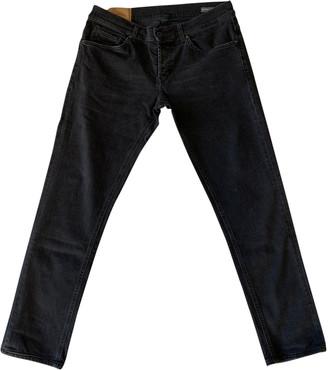 Dondup Black Cotton - elasthane Jeans
