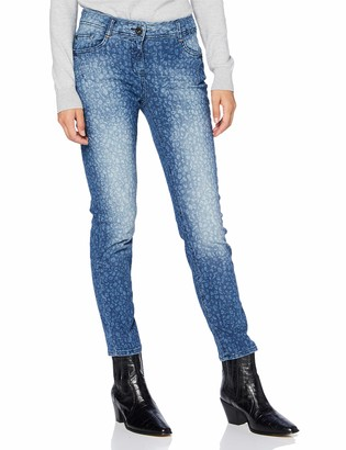 Cecil Women's 373343 Jeans Leo-Look im Style Charlize