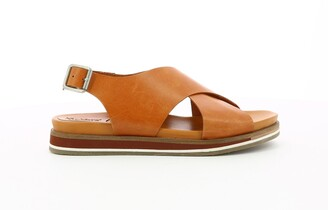 Kickers Oceanie Leather Flat Sandals
