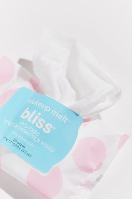 Bliss Makeup Melt Oil-Free Makeup Remover Wipes