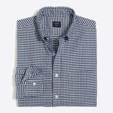 J.Crew Factory Flex oxford shirt in gingham