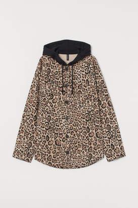 H&M Hooded Shirt Jacket
