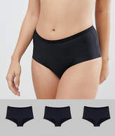 Asos 3 Pack Microfibre French Underwear
