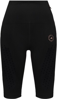 adidas by Stella McCartney Logo-Print Cycling Shorts