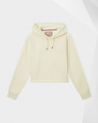 Hunter Women's Original Campus Cropped Logo Hoodie