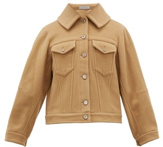 Palmer Harding Palmer//harding - Blended Cape-back Wool-blend Jacket - Camel