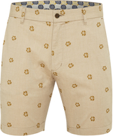 Oxford Henry Jacquard Shorts Mustard X
