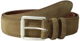 Torino Leather Co. 38MM Italian Calf Suede Men's Belts