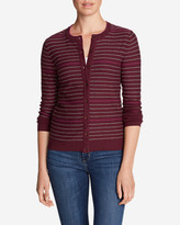 Eddie Bauer Women's Christine Cardigan Sweater - Stripe