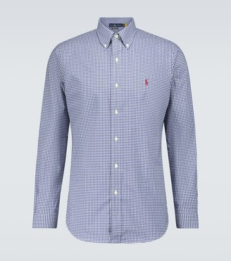 Polo Ralph Lauren Classic-fit checked shirt