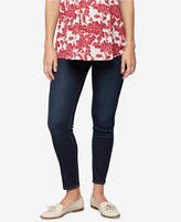 A Pea in the Pod Maternity Rinse Wash Skinny Jeans
