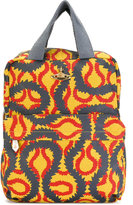 Vivienne Westwood Squiggle backpack - women - Cotton - One Size