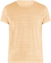 120% Lino 120 LINO Crew-neck linen T-shirt