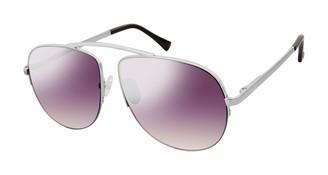 Sam Edelman Women's SE113 Metal Aviator-Style Sunglasses with 100% UV Protection