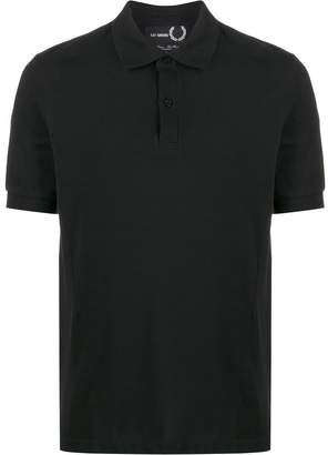 Fred Perry logo plaque short sleeve polo shirt