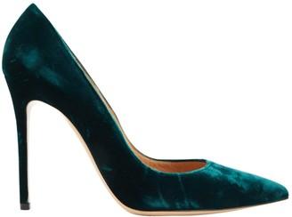 Gianvito Rossi Gianvito Green Velvet Heels