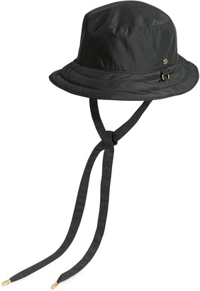 Gucci Reversible hat in GG canvas and nylon
