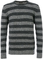Roberto Collina striped sweater - men - Silk/Cotton/Nylon/Alpaca - 46