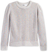Epic Threads Metallic-Knit Sweater, Toddle & Little Girls (2T-6X), Only at Macy's