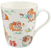 Cath Kidston Guinea Pigs Pets Party Mug, Multi, 475ml