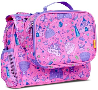 "Bixbee 9.5"" Kids' Imagination Backpack & Lunchbox Set - Princess Fairy"