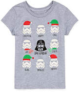 Star Wars STARWARS Holiday Graphic T-Shirt- Girls' 7-16