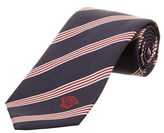 Versace Navy & Red Silk Tie.