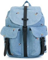 Herschel denim backpack