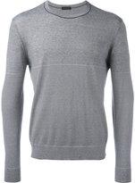 Z Zegna striped sweatshirt - men - Silk/Cotton - L