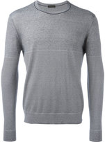 Z Zegna striped sweatshirt