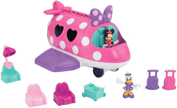 Fisher-Price Minnie Mouse Bow-tique Polka Dot Jet