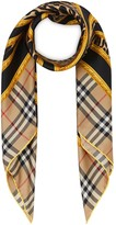 Burberry archive scarf print square scarf