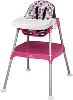 Evenflo Convertible 3-in-1 High Chair in Dottie Rose