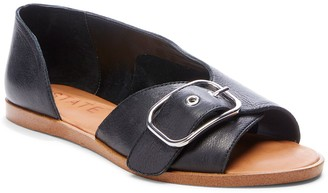 1 STATE Camdyn Buckled Leather Sandal