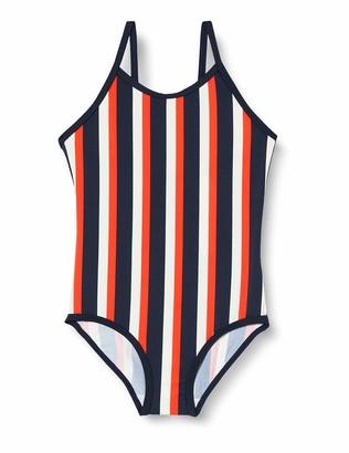 Name It Girl's Nmfztripe One Piece Swimsuit