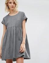 Gat Rimon Mala Brushed Cotton Short Sleeve Dress