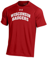 Under Armour Men's Wisconsin Badgers Tech Tee