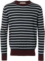 Marni striped sweater - men - Wool - 48