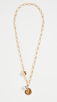 Timeless Pearly Charm Necklace