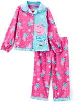 Komar Kids Peppa Pig Skating Two-Piece Pajama Set - Girls