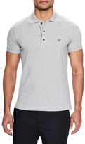 Diesel Cotton Solid Zip Trim Polo
