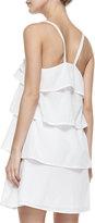 Diane von Furstenberg Avery Ruffled Tier Dress