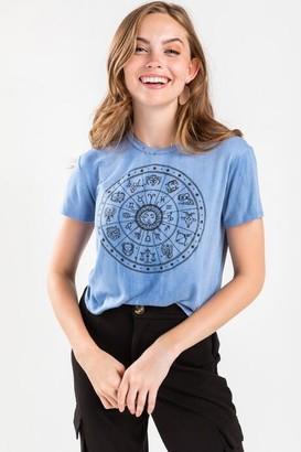 francesca's Horoscope Tee - Chambray