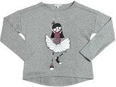 Little Marc Jacobs Dancer Printed Cotton Jersey T-Shirt