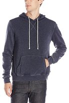 Threads 4 Thought Men's Burnout Fleece Pullover Hoodie