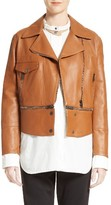 Belstaff Women's Avenhan Double Face Leather Jacket